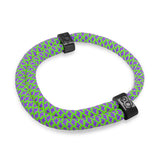 st8te aurora green and purple adjustable rope bracelet