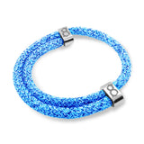 st8te Handmade Blue Bracelet Flyknit | Adjustable Rope Slider