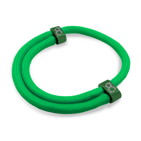 st8te Handmade Green Rope Bracelet | Adjustable Rope Slider Bracelets