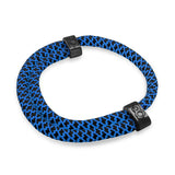 "st8te Handmade ""Midnight"" Blue & Black Rope Bracelet Adjustable Slider"