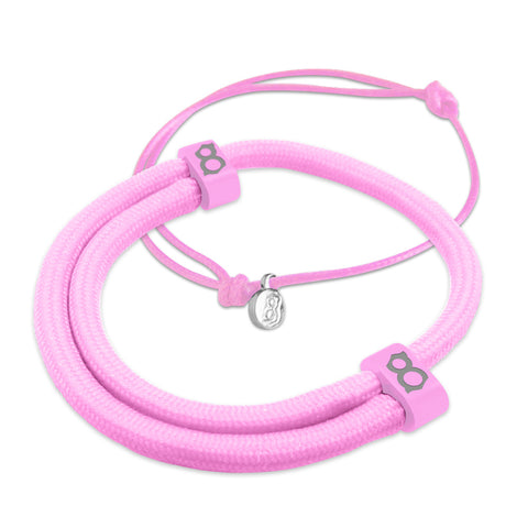 st8te Handmade Pink Bracelet Stack | Adjustable Sliders | Buy 3 Get 1