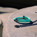 "st8te Handmade ""Mint"" Turqoise Rope Bracelet 