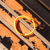 st8te Handmade Orange Rope Bracelet | Adjustable Slider