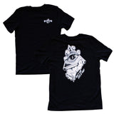 St8te of Mind Black Logo Tee