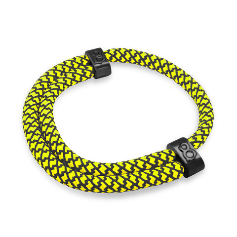 "st8te Handmade ""Taxi"" Black & Yellow Rope Bracelet, Adjustable Slider"