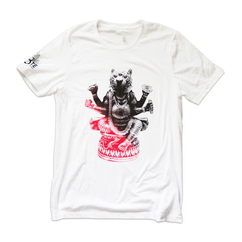 St8te of Mind White Graphic Tee