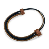 Wood Leather Bracelet