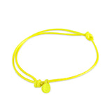 st8te Handmade Yellow Rope Bracelet with Charm | Adjustable Slim Slider
