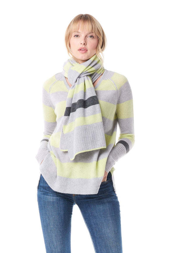 STRIPE HYPE SCARF - LISA TODD