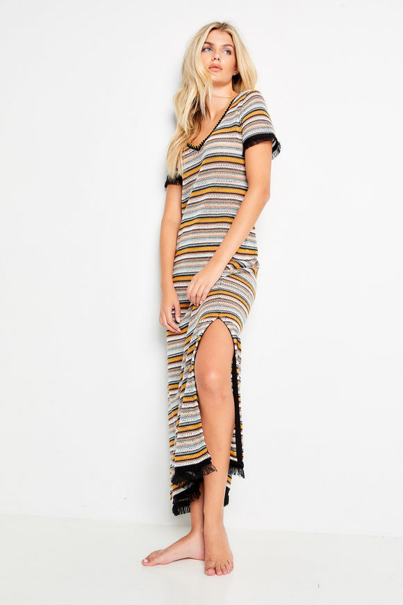 BOHO BEACH DRESS - LISA TODD