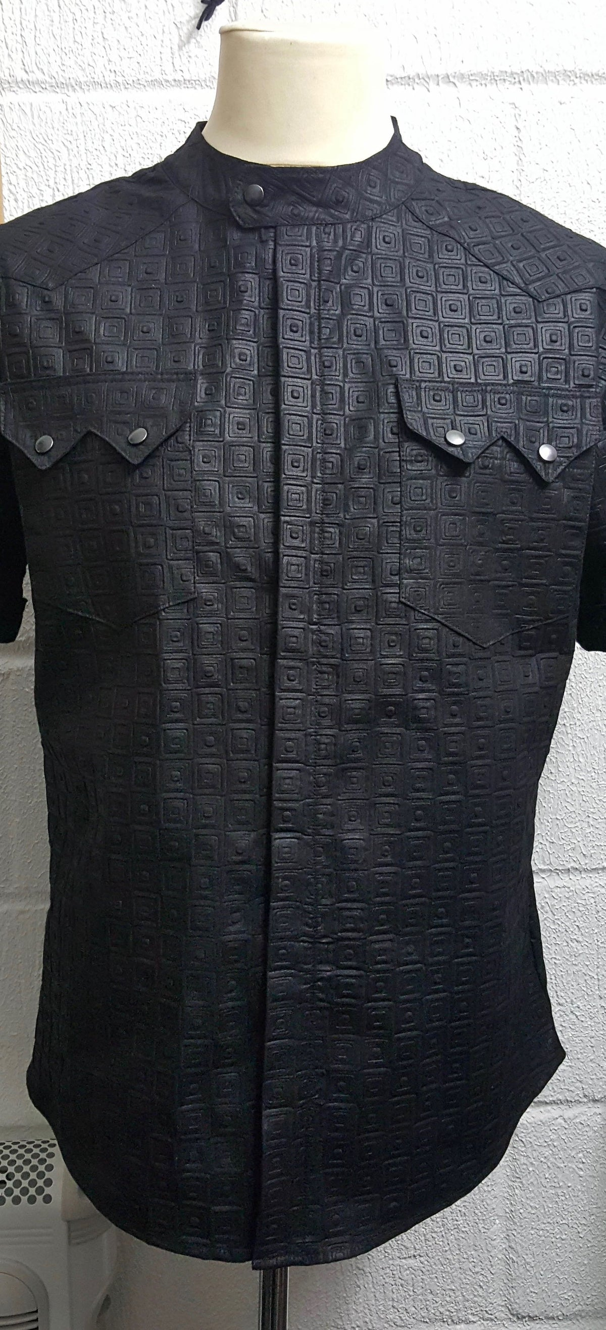 NEW Kacely Luxury Embossed Shirt