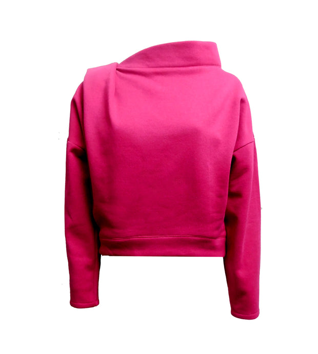 Fuschia Bea Sweatshirt Top