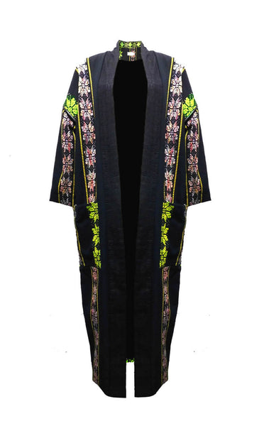 NEW IN :: Flower - Power Kente Weave Coat