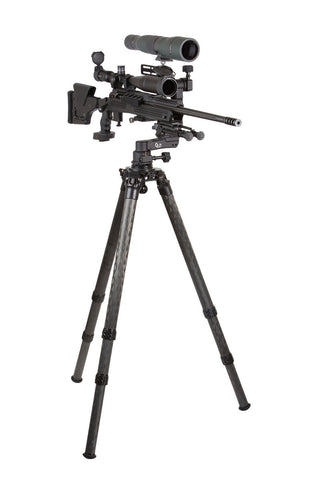 PMG-K01 Kit: Adjustable Rifle Support/Rest and 42mm Tripod Kit with Leveling Base and Scope Mount
