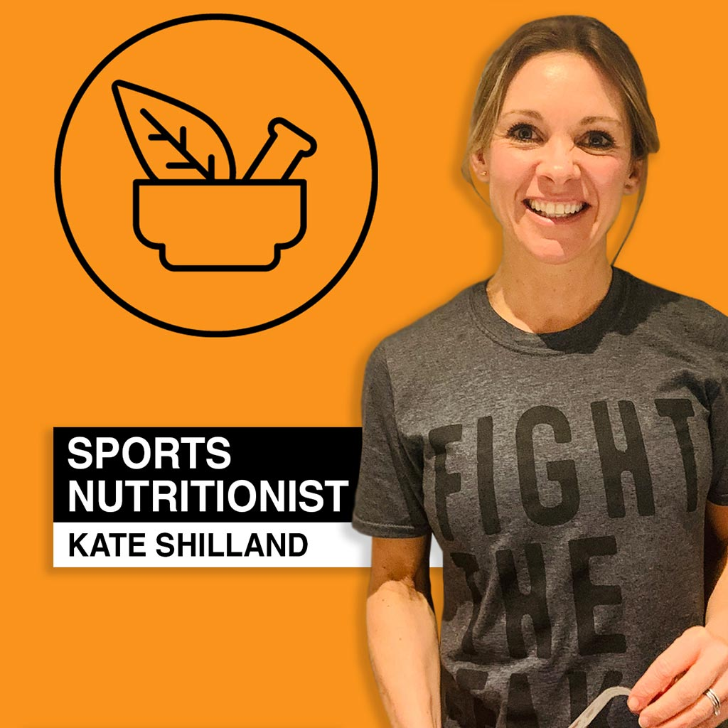 Kate Shilland - Sports Nutritionist