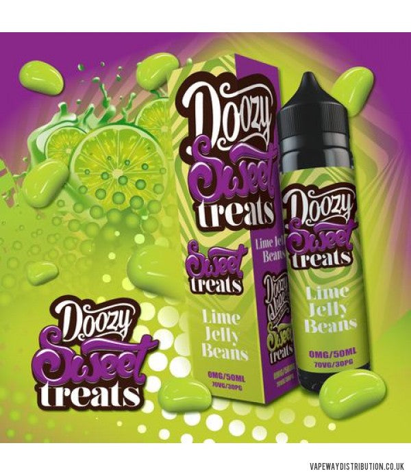 Doozy Sweet Treats - Lime Jelly Beans