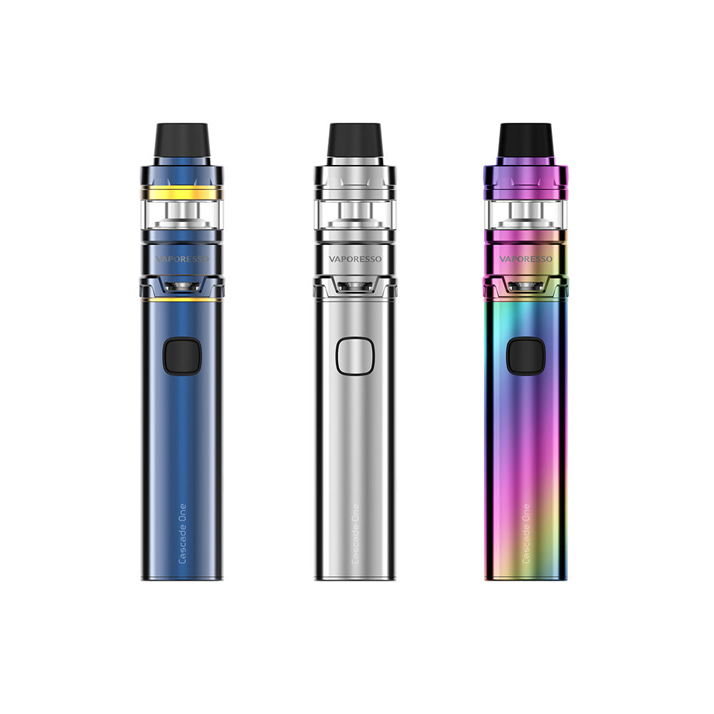 Vaporesso Cascade One Kit blue, silver and rainbow