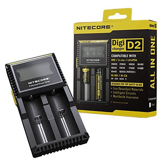 Nitecore battery charger D2