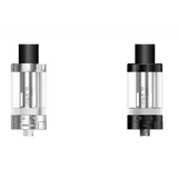 aspire cleito tank, black, clear, distance view