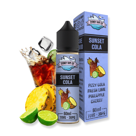 SYDNEY VAPE CO - SUNSET COLA