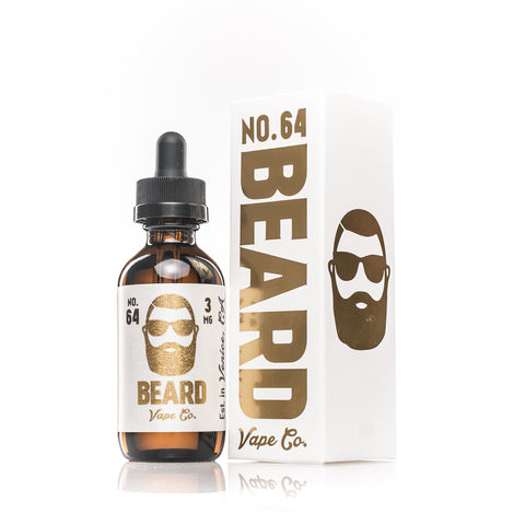 Beard Vape Co NO. 64 bottle and box
