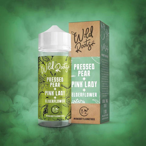 Wild Roots Pressed Pear, Pink Lady & Elderflower 100mL