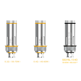 Aspire Cleito Tank replacement coils variations