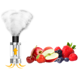 cleito tank example image with smoke and various fruits
