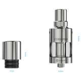 CUBIS Pro Atomizer, silver with two separate parts