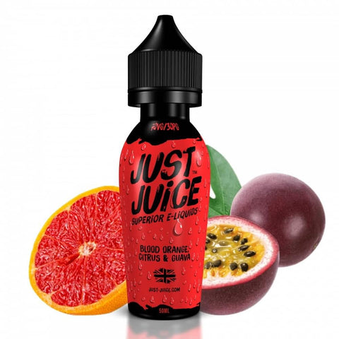 Just Juice Blood Orange, Citrus & Guava 60ml