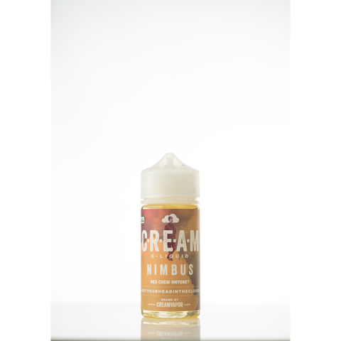 NIMBUS E Liquid by Cream Vapor USA bottle with white background