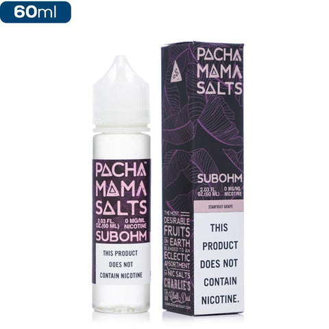 Pachamama Sub Ohm 0mg 60ml | Starfruit Grape |