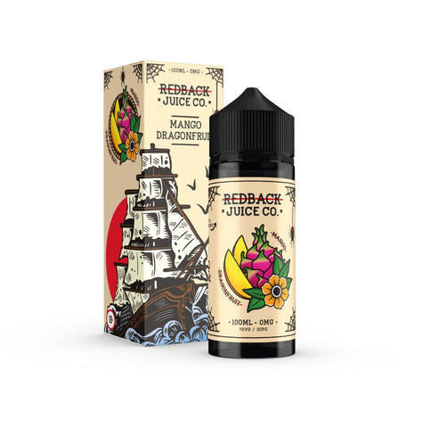 Redback Juice Co. Mango & Dragonfruit 100mL