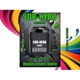 Sub-Herb Black Armor | Replacement Armor Dome in black and green packaging