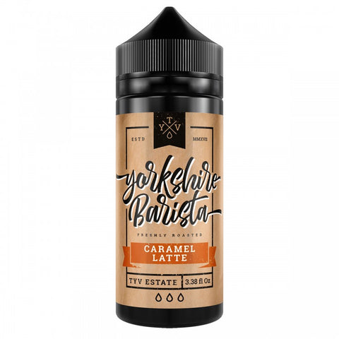 Yorkshire Barista Caramel Latte 100ml