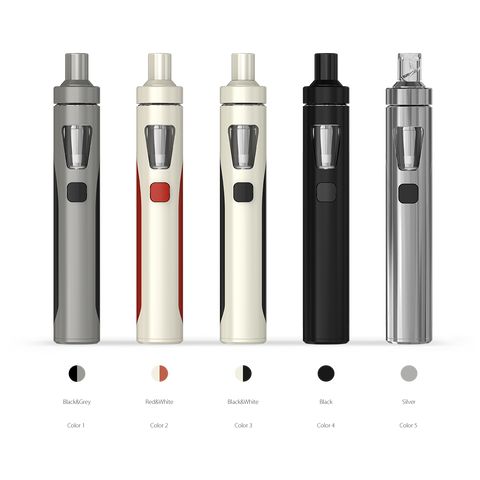 Joyetech EGO AIO KIT plain colours, grey, white/red, black.white, black, silver