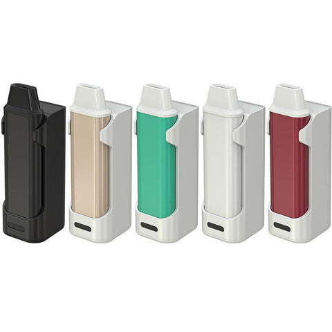 iCare Mini kit colours black, cream, aqua, white and red