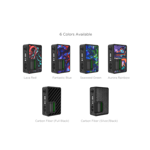 Vandy Vape Pulse BF 80W Box Mod Colour variations