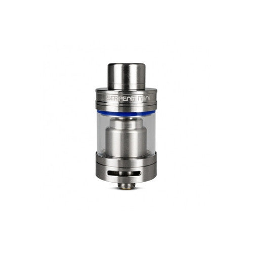 Serpent Mini RTA Kit in silver and blue