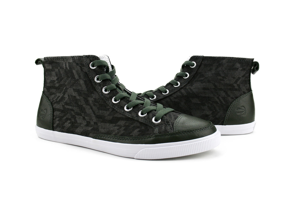 Men's High Top Vintage II - Burnetie Shoes