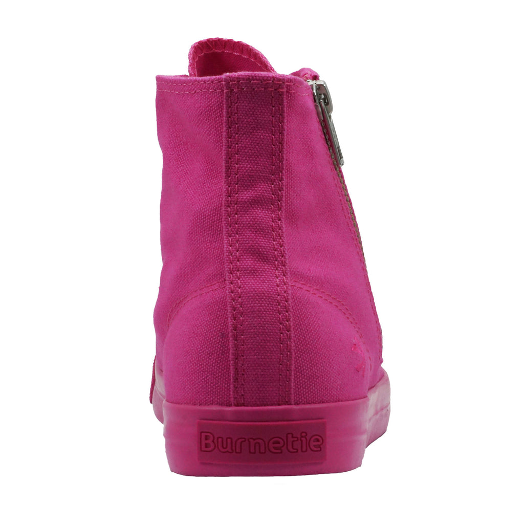 Women's High Top Zip