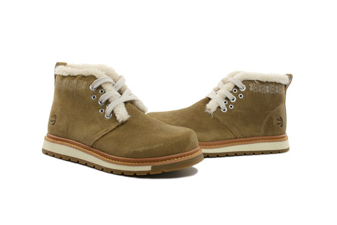 Men's Leather X Chukka boots