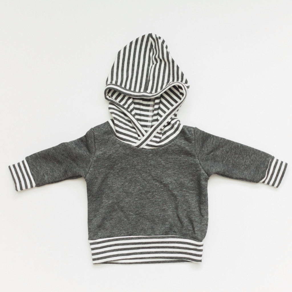 Charcoal Hoodie - Baby Bear Outfitters