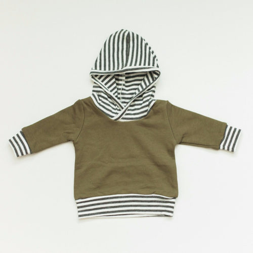Olive Hoodie - Baby Bear Outfitters