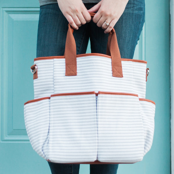 Cotton and Stone Diaper Bag