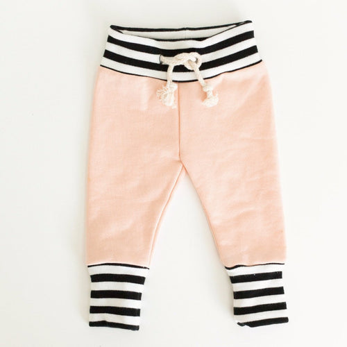 Peach Joggers - Baby Bear Outfitters