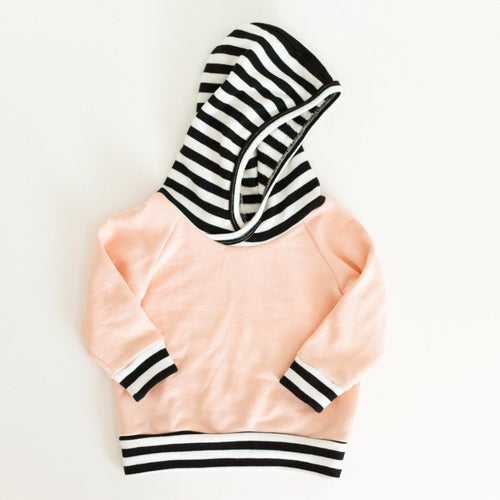 Peach Hoodie - Baby Bear Outfitters