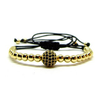 18kt Gold Plated Beads | CZ Ball