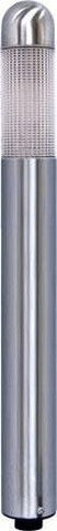 "Dabmar Lighting LV62-SS 14"" Mini Bollard Prismatic Lens 20W 1, Stainless Steel Finish"