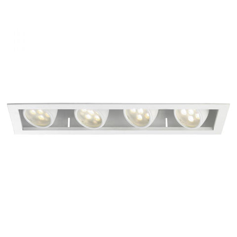 LED MT 4IN HOUSINGS 4X18W NON IC - 35DEG (MT-LED418F-27HSNIC) by WAC US